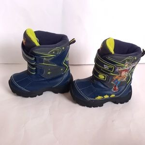 Disney Toy Story Toddler size 7 Snow boots